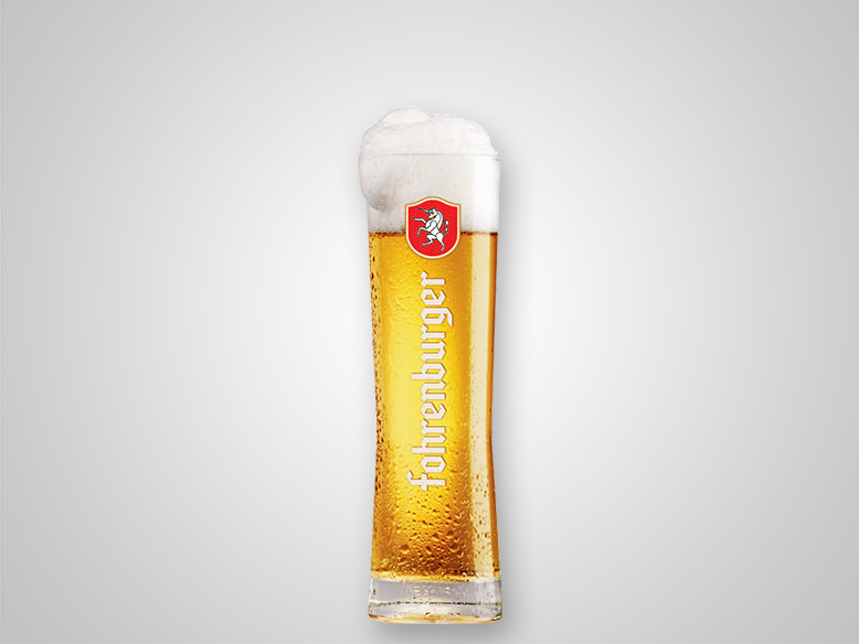 Bierglas Fohrenburger